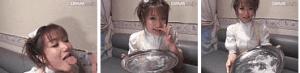 「松本和彦的ネバネバ90分SPECIAL 杏野るり」銀皿ザーメンごっくん
