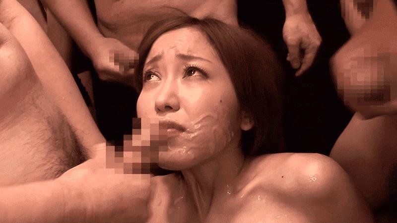 「地獄の大量ザーメン拷問スペシャル 精子ごっくん105連発 篠田ゆう」複数ぶっかけゴックン