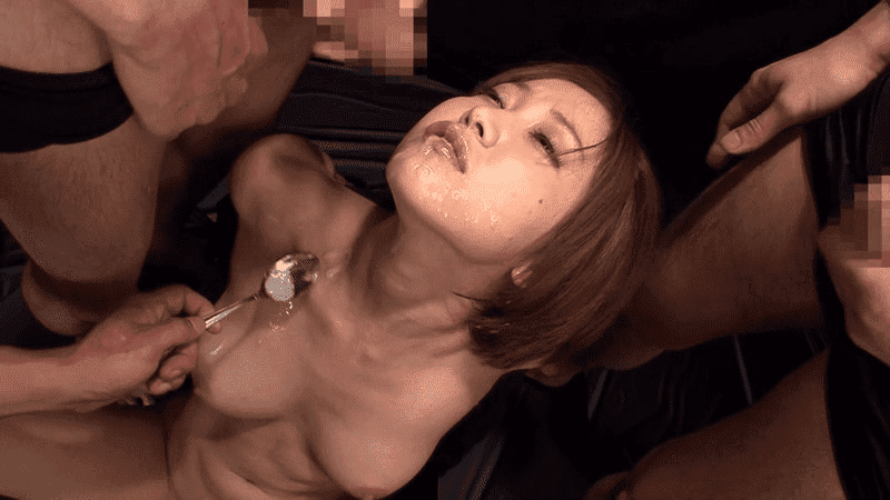 「地獄の大量ザーメン拷問スペシャル 精子ごっくん105連発 篠田ゆう」ぶっかけゴックン