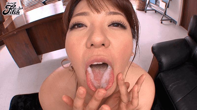 「ムッチリ爆乳のお姉ちゃんはごっくん中出し大好き痴女 杏美月」ザーメンごっくん