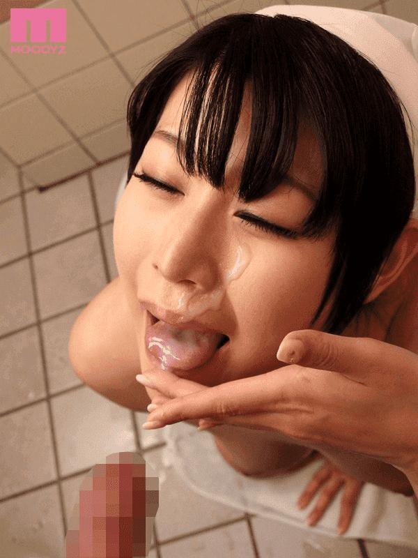 「お掃除ごっくん家政婦 原千草」お風呂でザーメンごっくん