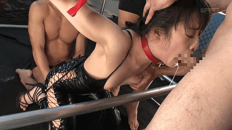 「三穴責め続け中出し漬け ver.BDSM 中里美穂」拘束イラマチオ