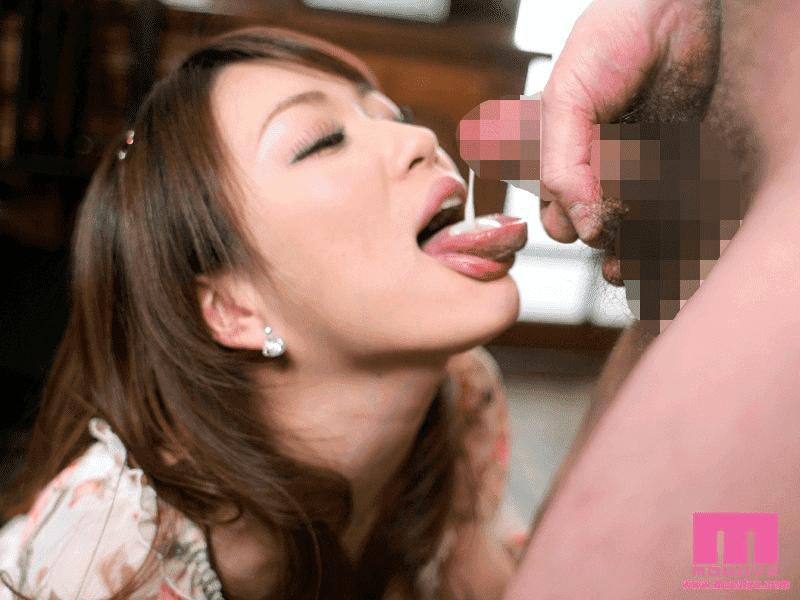 「ザーメンドッグカフェ 星野あかり」精子を舌で受ける