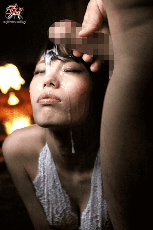 「全発射本物精子 猫目美少女のゴックンぶっかけ連続生ハメ中出し 川菜美鈴」ぶっかけ1