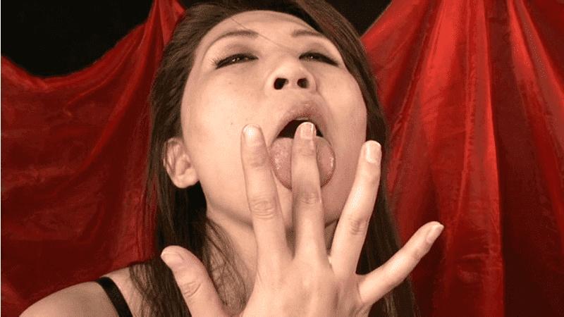 「肉食痴女 スペルマニア」吉岡奈々子のザーメンごっくん